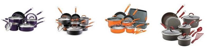 4 different Rachael Ray Sets
