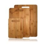 3 piece Bamboo chopping board set