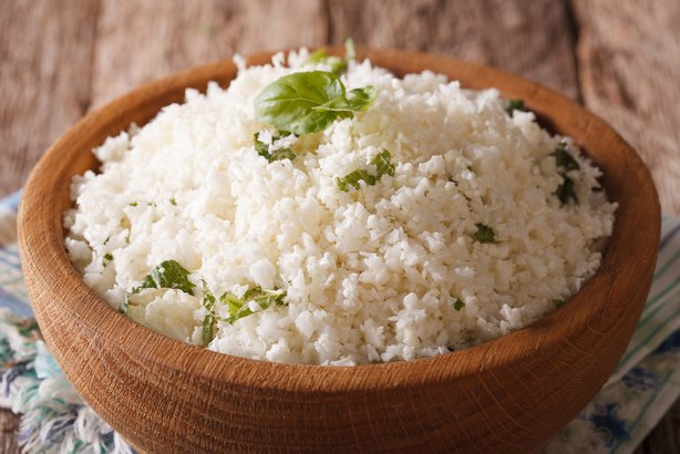 raw Cauliflower Rice