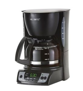 Mr. Coffee CGX7 5 cup coffee pot
