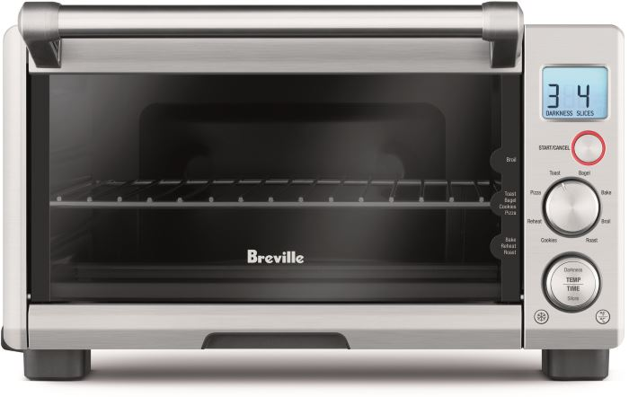 compact smart toaster oven Breville BOV650XL review