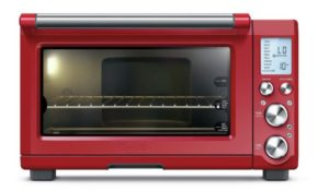 Breville BOV845CRNUSC red toaster oven's