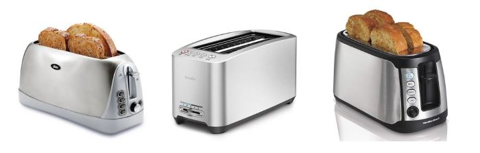 5 Best Long Slot Toaster Reviews Top Rated 4 Slice