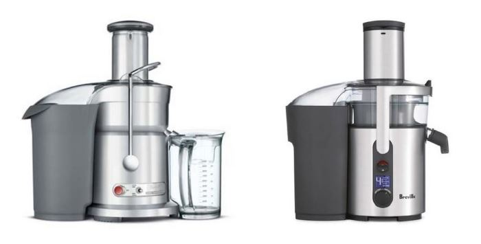 Breville Juice Fountain Elite vs Juice Fountain Multi-Speed
