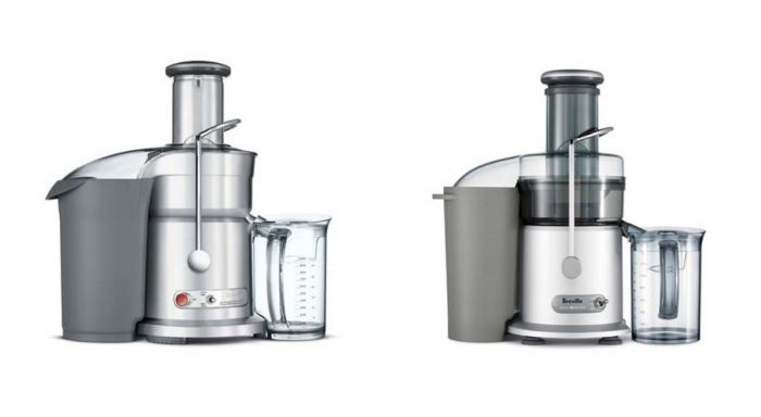 Breville Juice Fountain Elite vs Juice Fountain Plus