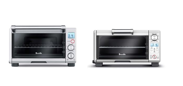 Breville BOV650XL compact vs BOV450XL mini smart oven