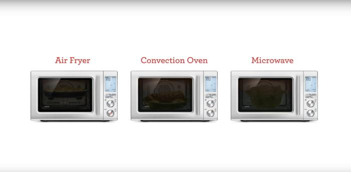 Breville BMO870BSS oven - 3 appliances in 1