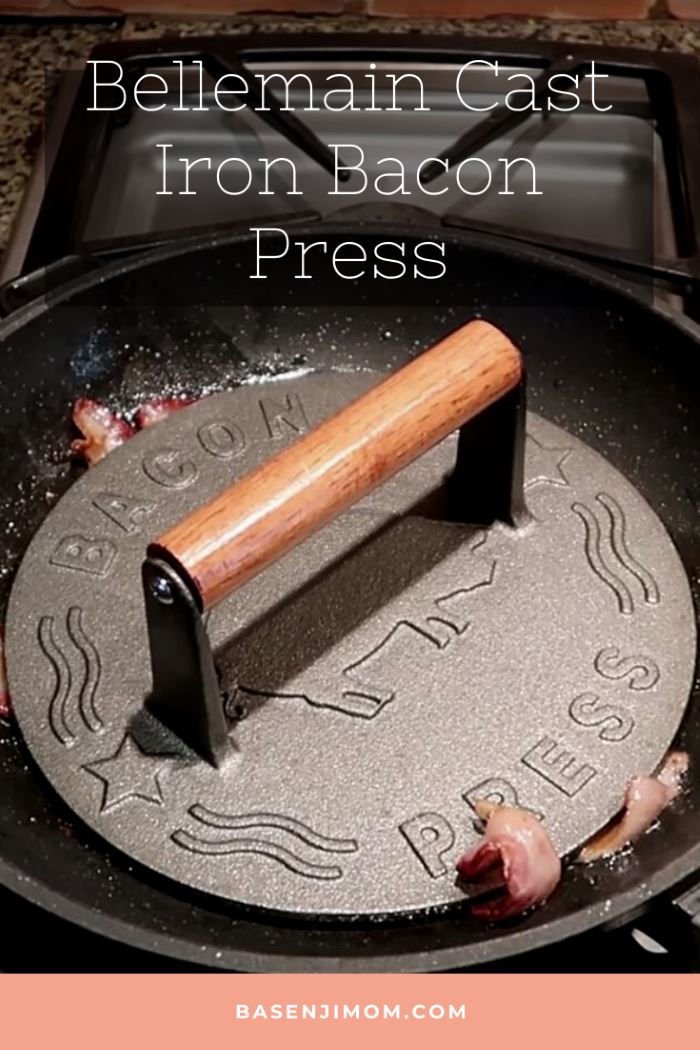 Bellemain Cast Iron Bacon Press