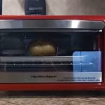 Hamilton Beach red Small Toaster Oven