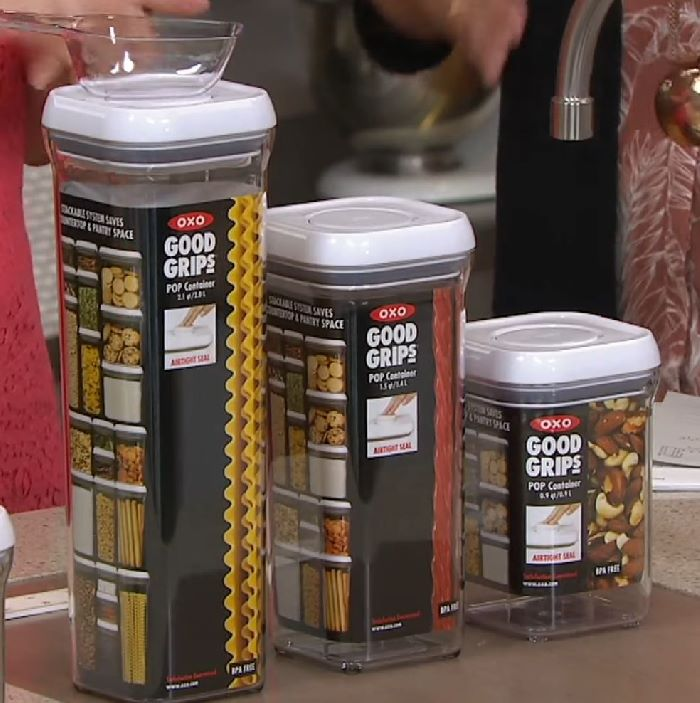 Oxo Good Grips 10 Piece POP Container Set Review | OXO Food Storage Containers Reviewed