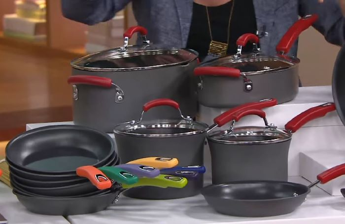 Rachael Ray Hard Anodized 12-Piece Cookware Set