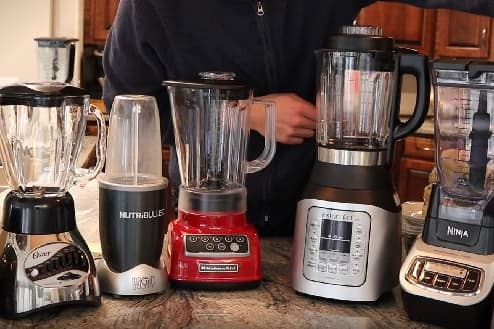 types of kitchen blenders